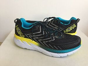 44 2 10 3uk Us Scarpa Hoka Clifton 5 4 BlackCyan Eu 10 One Citrus Men zMSVUGqp