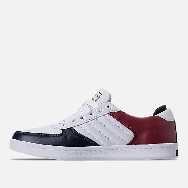 Mark Nason Los Angeles Casual shoes Navy bluee Burgundy White New Modern 11