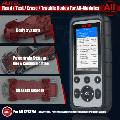 Autel MD806 Pro OBD2 Diagnostic Tool Scanner ABS DPF Better Than MD808 PEO MD806