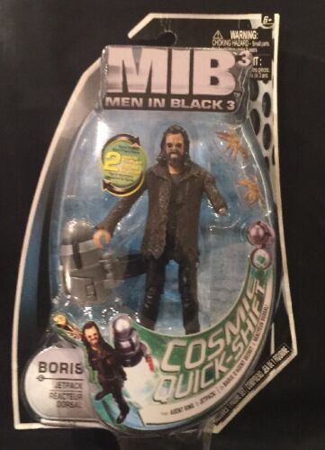 New 4 Inch Figure with Small Accessory Boris /& Jetpack Men In Black 3