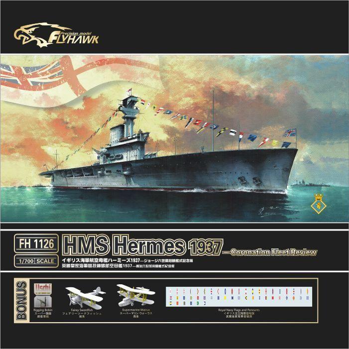 Flyhawk 1 700 1126 HMS Aircraft carrier Hermes 1937