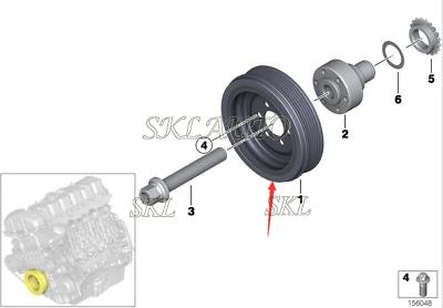 BMW Genuine Parking Brake Shoes Hardware Kit E53 E60 E60N E61 E61N E63 E63N E64