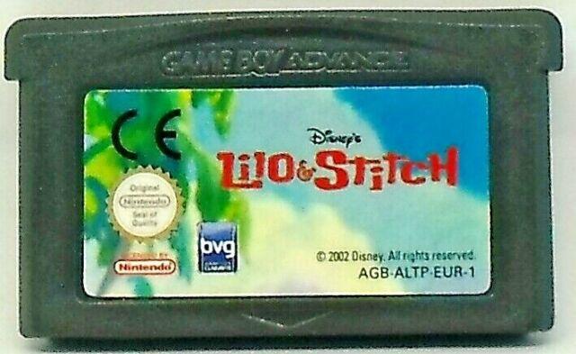 Lilo et stitch sur Gameboy Advance GBA 76