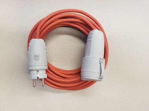 Verlängerungskabel SIHF 3x2,5 Wärmebeständig IP44 ab 5m graue Stecker
