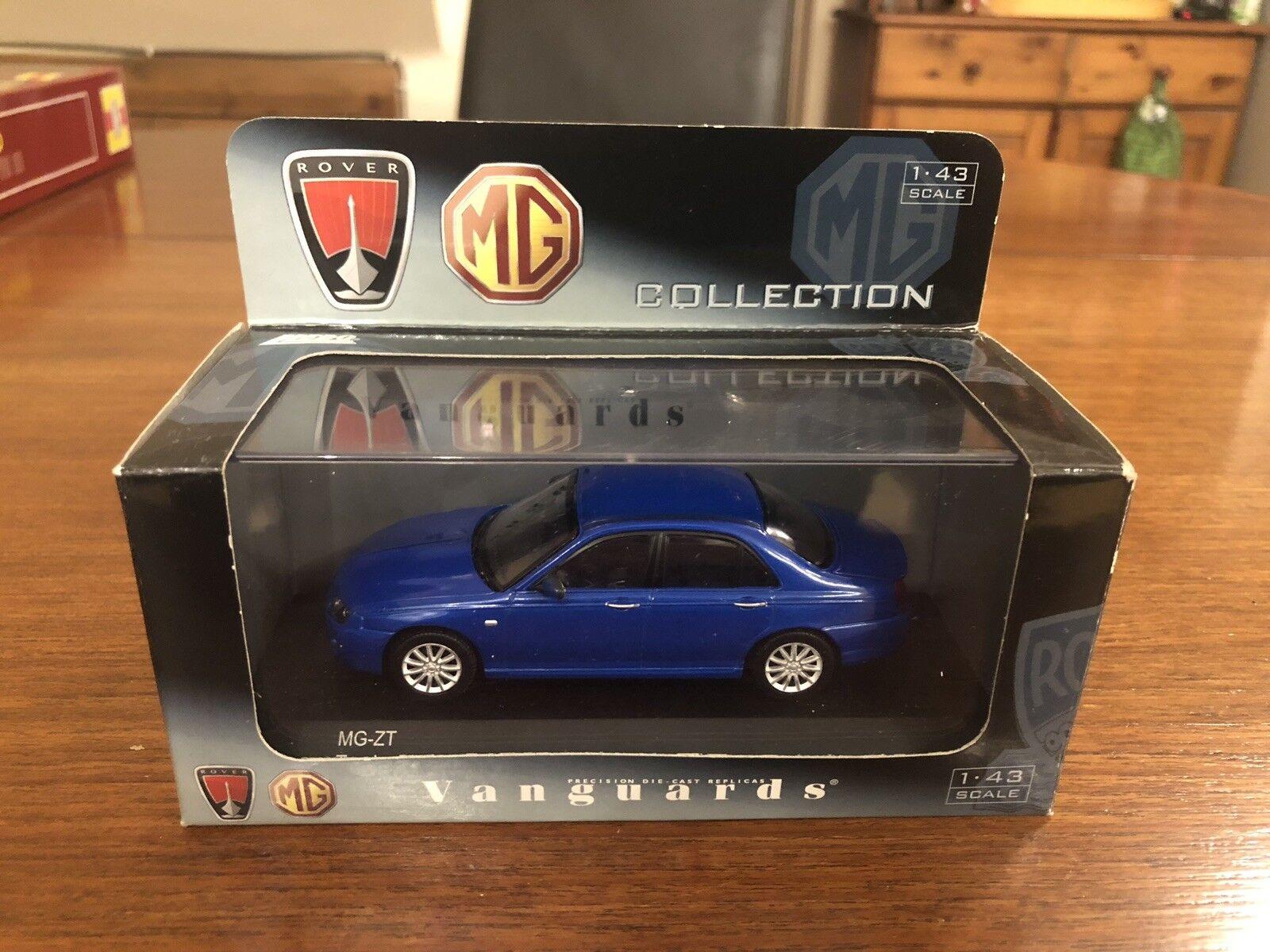 Vanguards 1 43 MG ZT Facelift Trophy bluee VA09300 Corgi Lledo BNIB MINT
