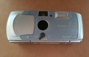 OLYMPUS-i-10-APS-Compact-Film-Camera-Retro-Point-amp-Shoot-with-Case-and-Battery
