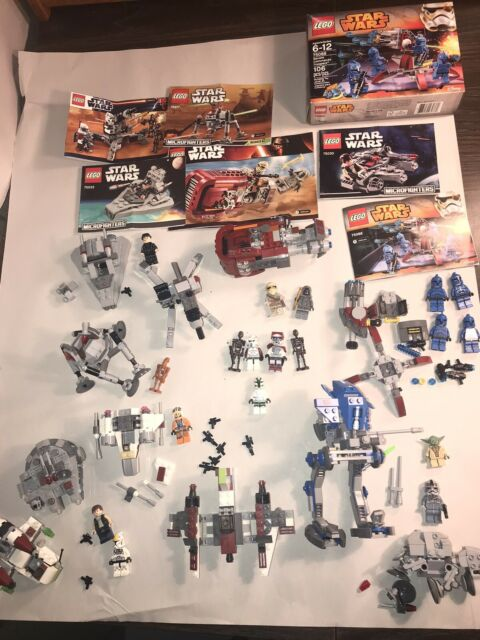 lego star wars lot minifigures And Sets