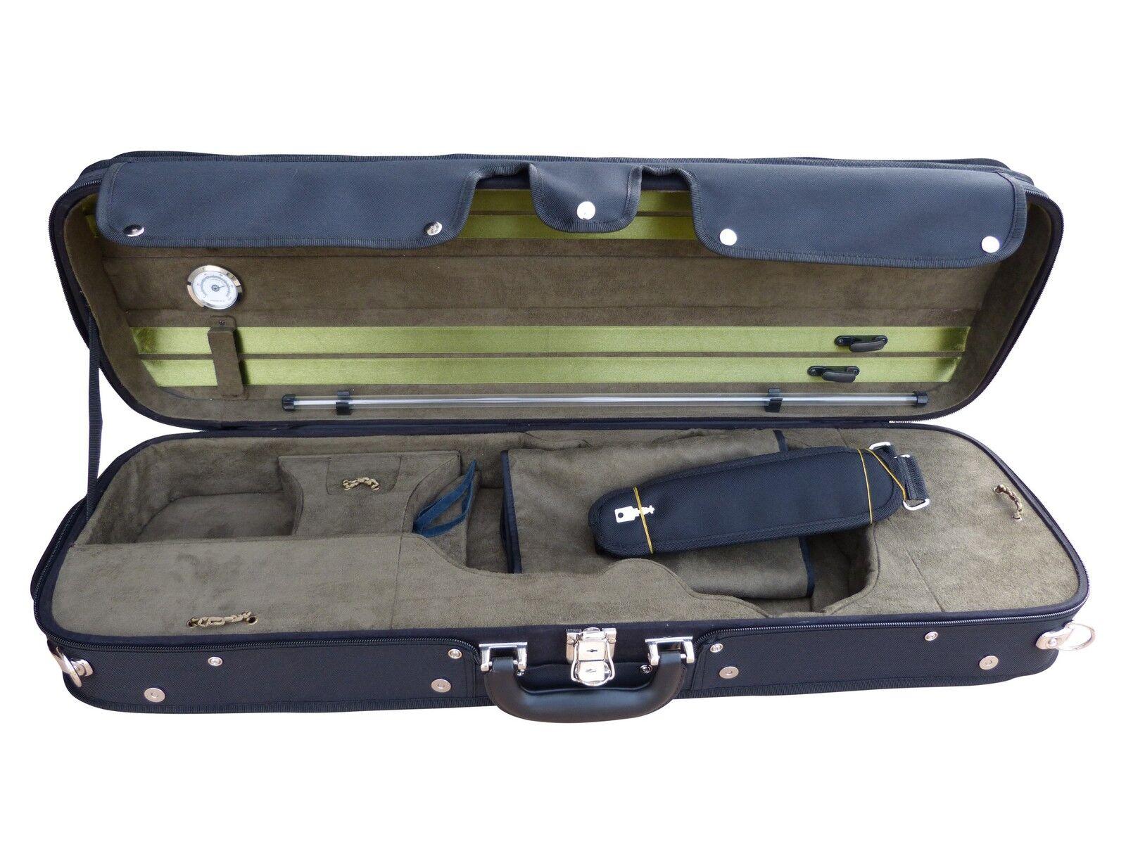 Luxus Geigenkoffer Geigenetui Violinenkoffer für 4 4 Größe neu