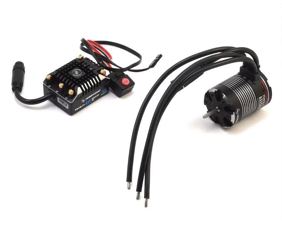 Hobbywing 38020248 AXE FOC Waterproof Sensorosso  Brushless Combo w 1200kv Motor  colorways incredibili