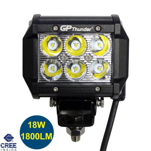 4 inches Off Road 18W CREE LED Fog Lamp Work Light Bar SUV 4x4 Jeep 4WD DRL 1pcs