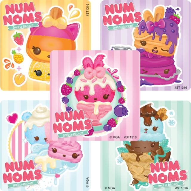 Strawberry Shortcake Stickers x 5 Scented Favours Birthday Party Supplies