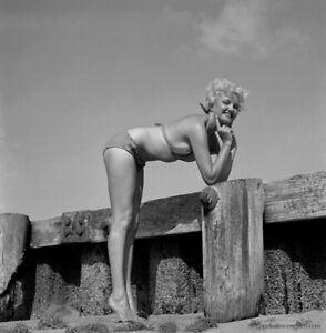 1950s bikini bunny girl yeagers