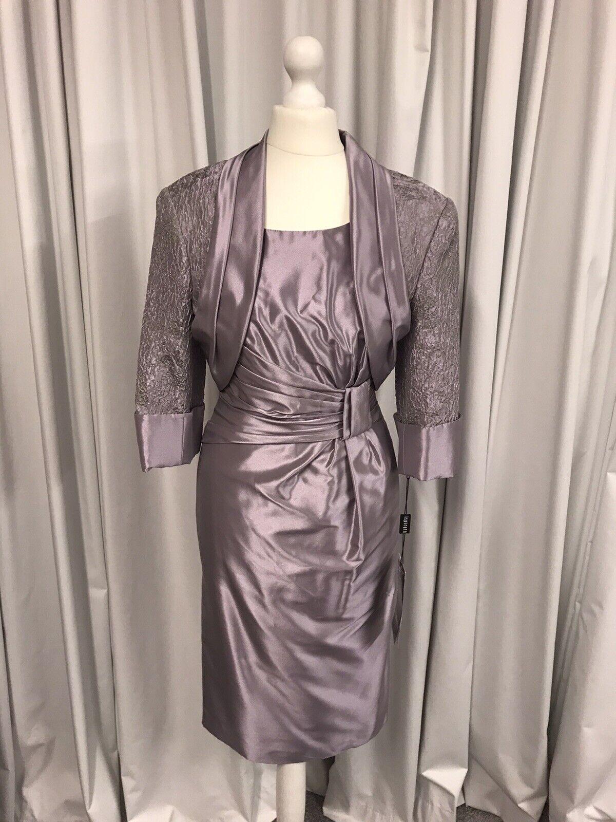 Ispirato IK912, Dress & Jacket, Mother Of The Bride, Lilac UK10