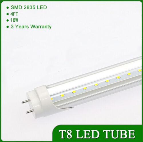 10//25PCS 18W 4FT Cool White T8 LED Tube Light Bulb Fluorescent Replacement Lamp