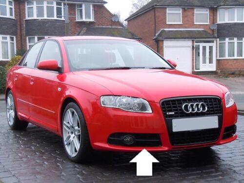 Audi A4 véritable B7 s-line o//s droit pare-chocs grill fog light surround 8E0807682G