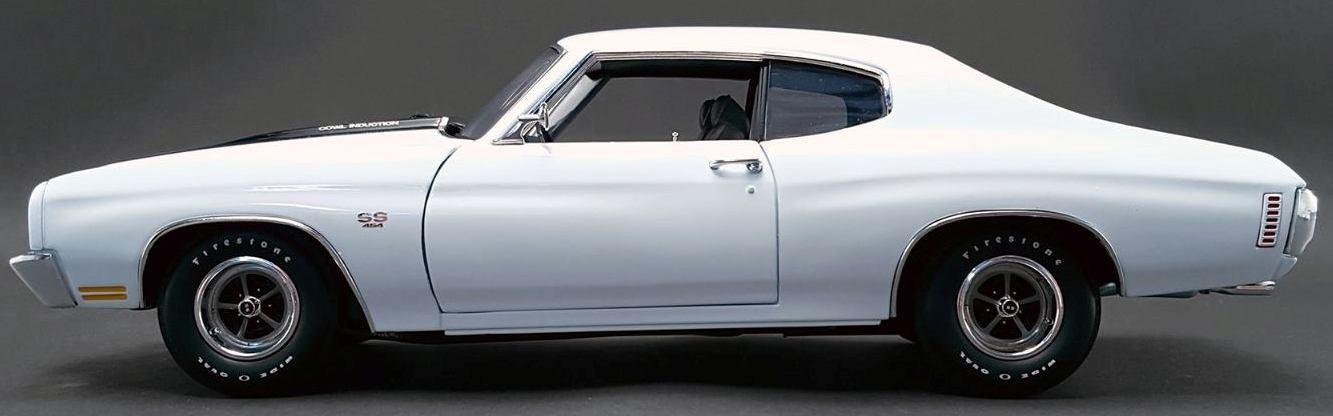 la red entera más baja Chevelle 1970 blancoo 1 18 1805508 1805508 1805508  40% de descuento