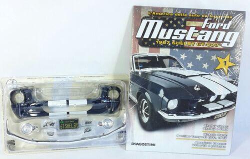 Ford Mustang 1967 Shelby GT 500 De Agostini 1° Uscita 1:18 Modellino Auto Regalo