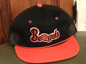 9243b292 NICE Vintage 1980's Throwback Snapback Mesh Hat Cap Cincinnati ...
