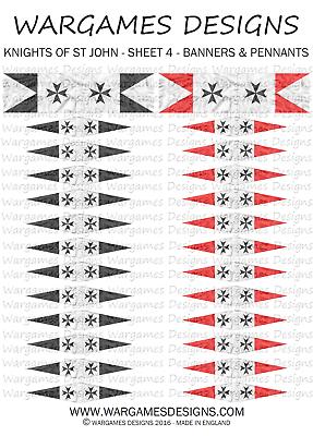 DBA FOG Sheet 37 Fantasy Medieval Lion Rampant Hail Caesar 10mm Flags