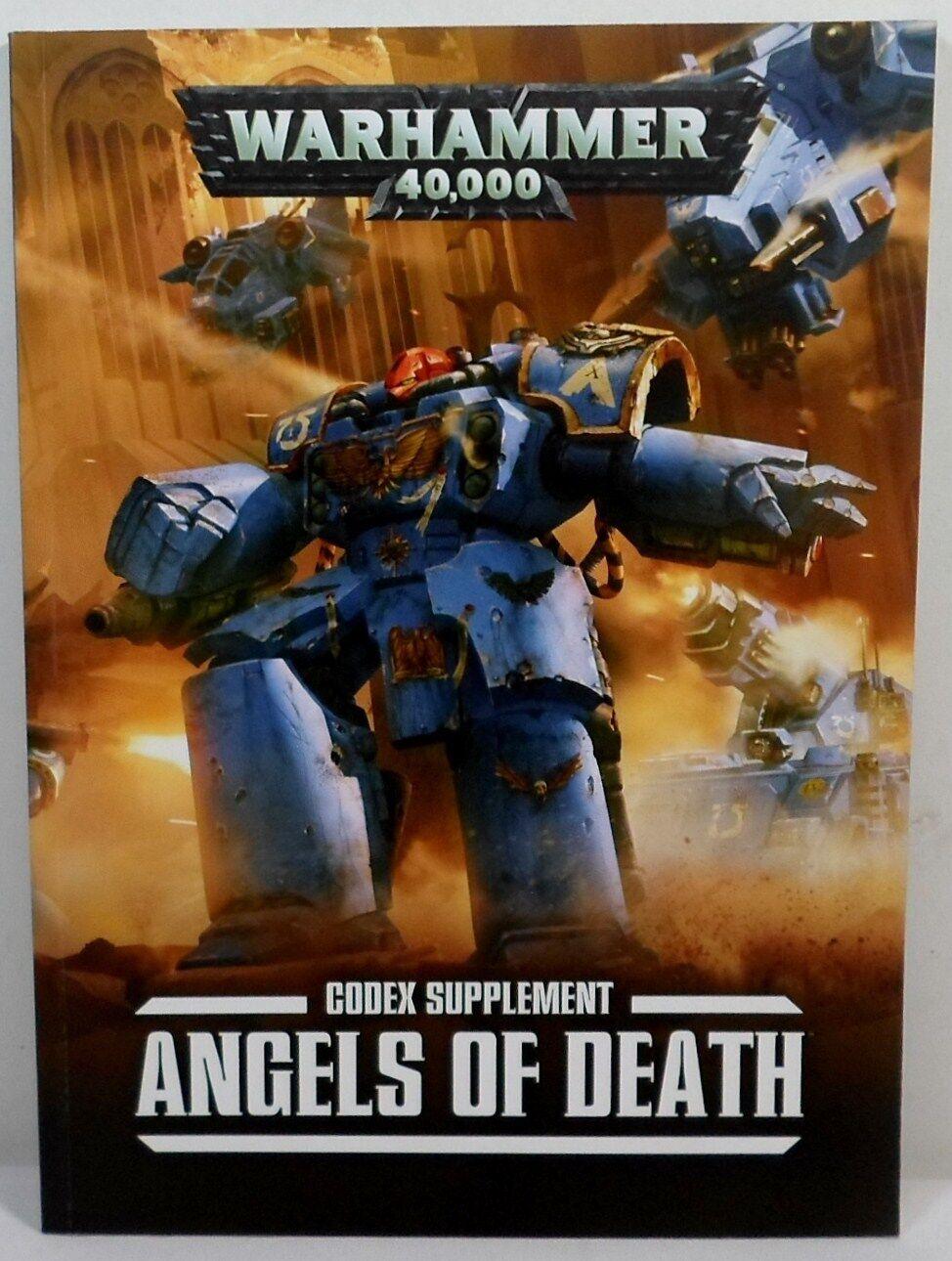 Warhammer 40k 40.000 space marines engel todes des todes engel - beilage buch ungenutzt 869d47
