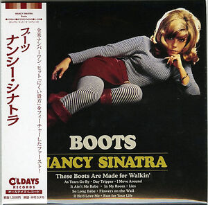 NANCY-SINATRA-BOOTS-JAPAN-MINI-LP-CD-BONUS-TRACK-C94