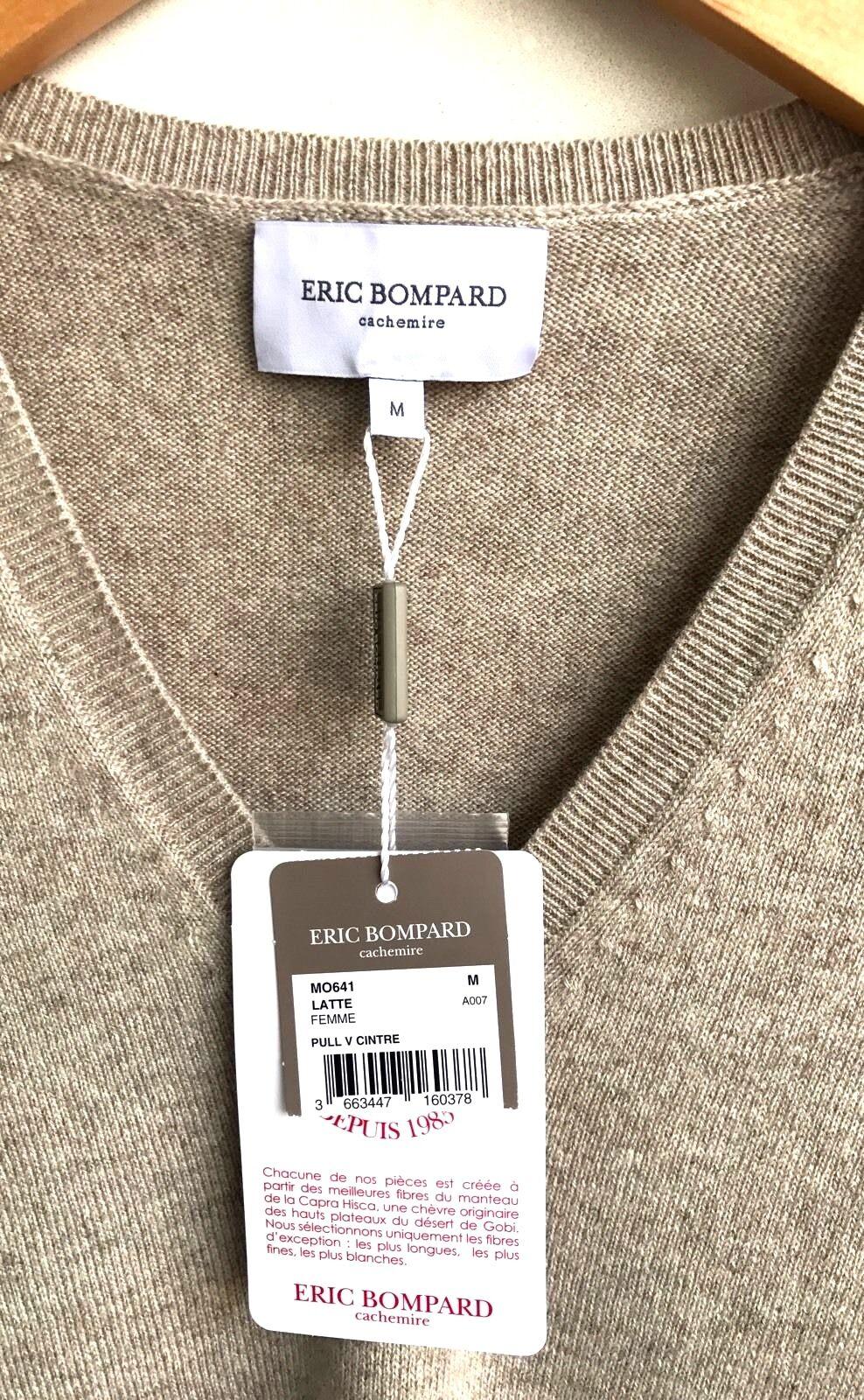 NWT Medium Medium Medium Eric Bompard Brown Cashmere Poncho 06a9a0