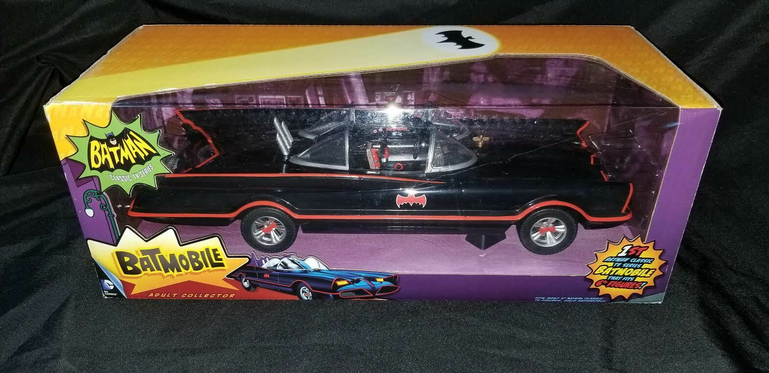 2013 Mattel, Batman Classic TV Series, 18  Batmobile Car, New