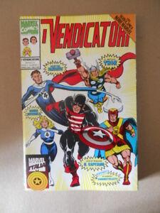 100% Vrai I Vendicatori N°1 1994 Marvel Italia [g108a]