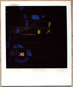 SOLARISTIK-PHOTO-POLAROID-ORIGINALE-BILLE-DE-BOIS-ABSTRACTION-GEOMETRIQUE
