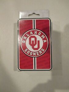 Game-Day-Oklahoma-Sooners-Collectible-Deck-of-Playing-Cards-w-Free-ship
