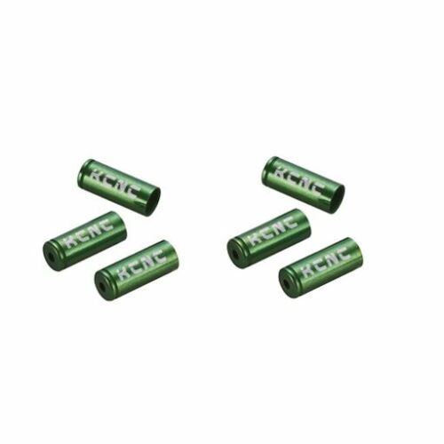 Green KCNC Ferrules Bike Bicycle Cycling End Caps for Brake Cable Housing 5mm