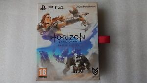 Horizon-Zero-Dawn-PS4-Limited-Edition-Including-DLC-Steelbook-Art-book-PS4-NEW