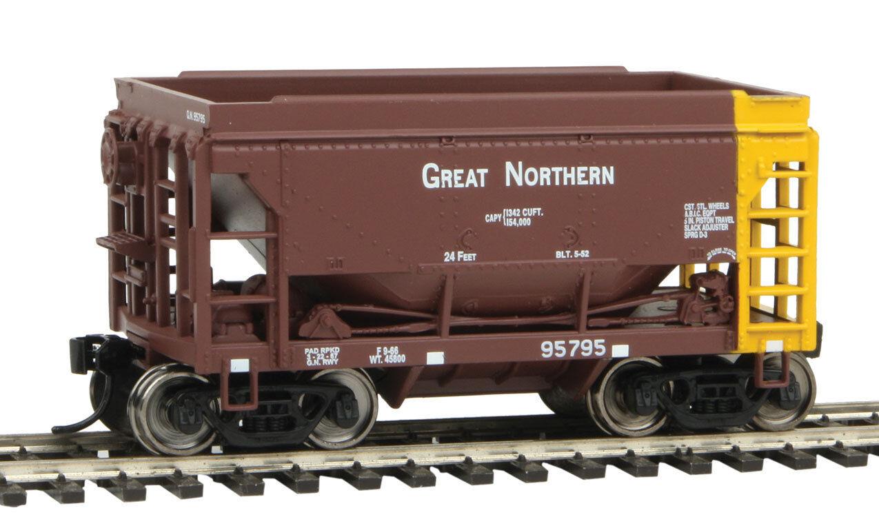 Traccia h0-Set ore car Great Northern 4 carri - 58061 NUOVO