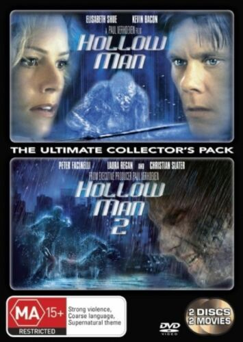 1 of 1 - Hollow Man  / Hollow Man 02 (DVD, 2007, 2-Disc Set)*R4*Terrific condition