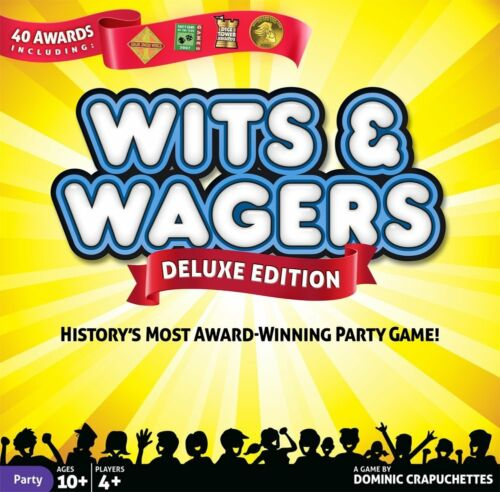 Wits /& Wagers Deluxe Board Game