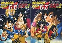 DRAGON BALL GT Anime Perfect File 1.2 Art Book Japanese