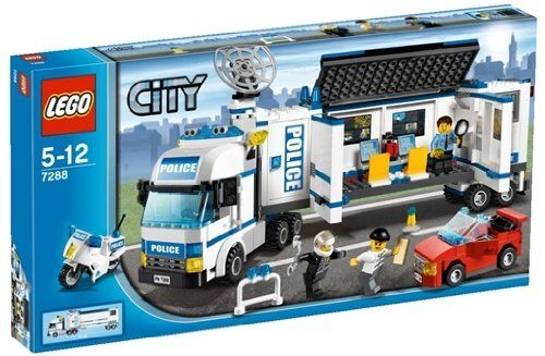 LEGO City 7288 Mobile Police Unit Unit Unit (Full set in the box) 7f95dc