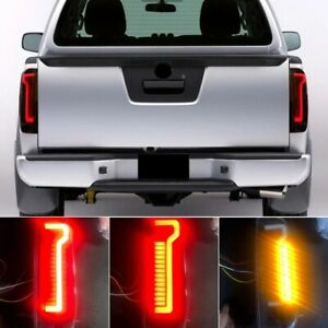 2x For Nissan Navara D40 Frontier 2005 -2015 Car Red Rear Tail Light Brake Lamp