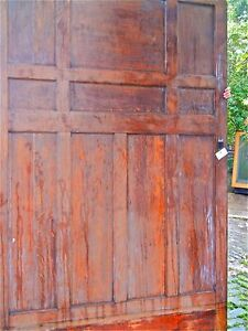 tiger oak wood panel wainscot architectural antique raised large