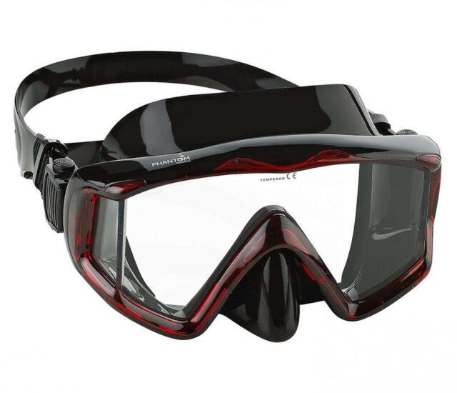 Phantom Aquatics Panoramic Scuba Snorkeling Dive Mask