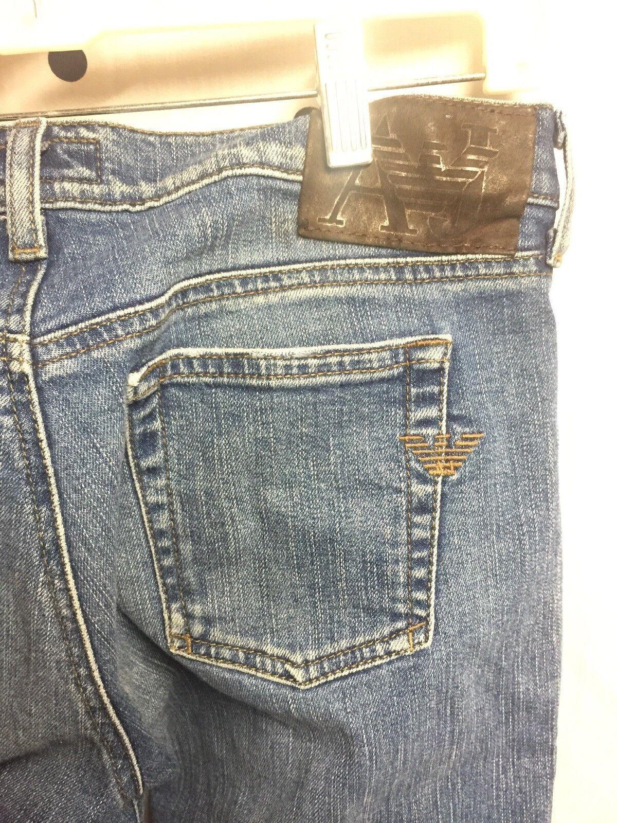 Armani Jeans AJ Women's Comfort Fit Straight Leg 28x31