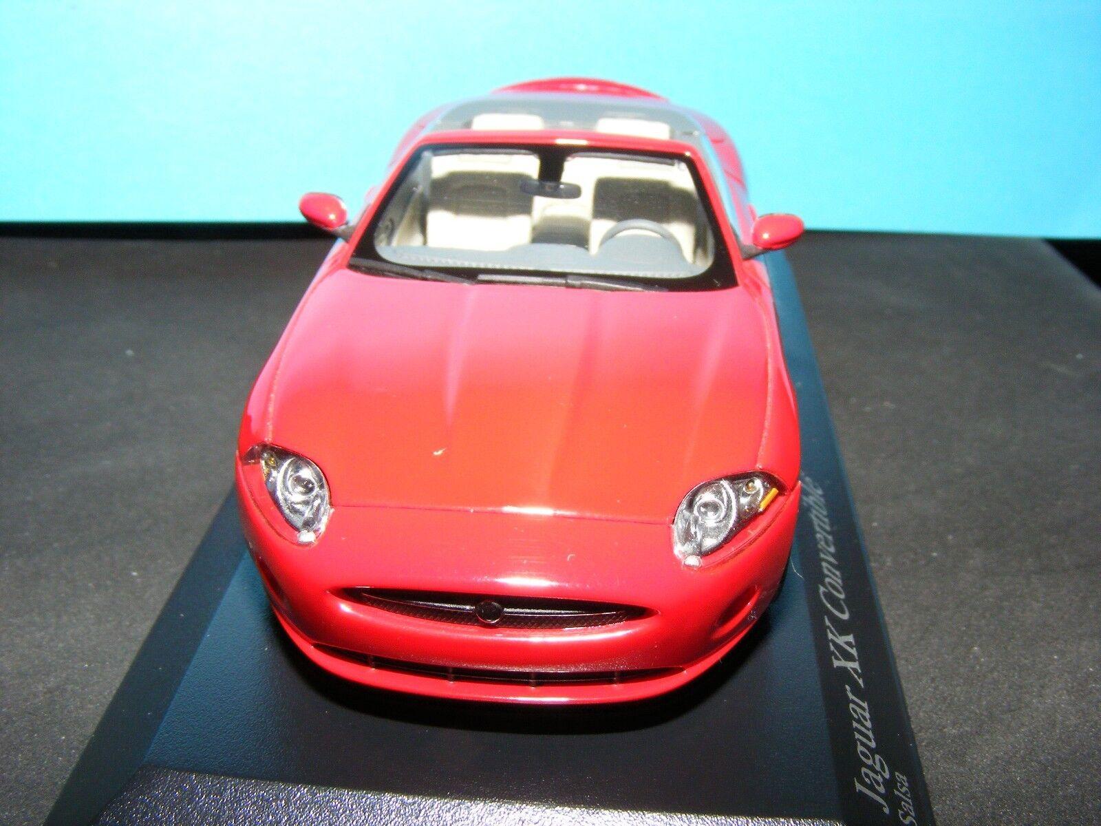 Jaguar XK Convertible 2006 in (environ 5095.24 cm) Salsa Rouge MINICHAMPS 1 43 rd scale