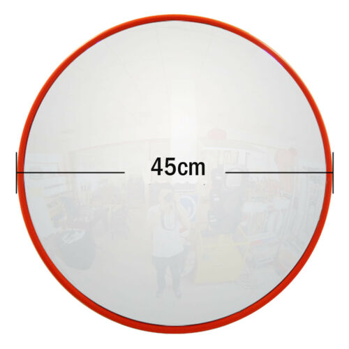 60cm Wide Angle Safe Security Round Convex Road Mirror Traffic Driveway Safety