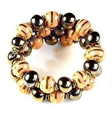 Bracelet Fashion Jewelry Handmade hand painted beaded Kazuri Africa (KJB-50026)