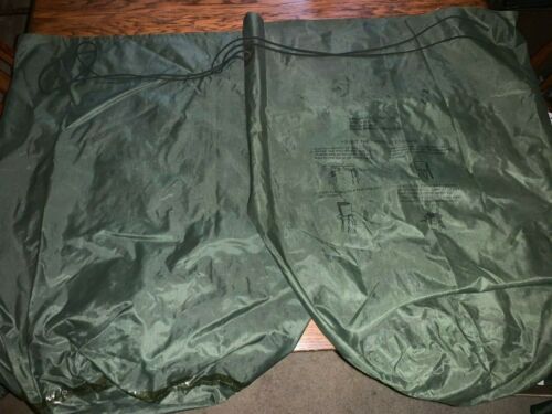 2 US Army Military WATERPROOF CLOTHES Clothing GEAR WET WEATHER LAUNDRY BAG EX
