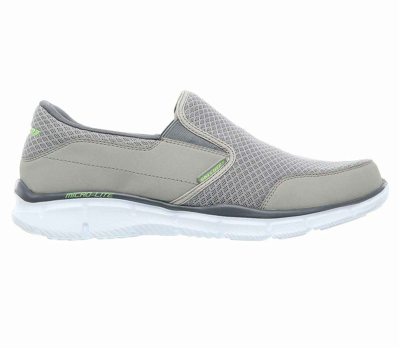 51361-GRY, Skechers Schuhe – Equalizer-Persistent grau, Herren, 2018, Textil