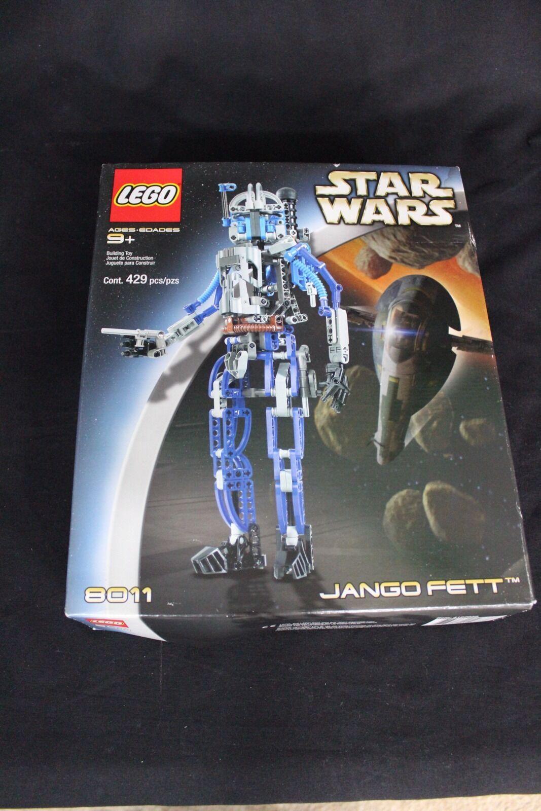 NEW Lego Star Wars Jango Fett    8011. 429 pcs+box+instruction book. Nuovo Set