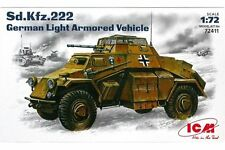 ICM 72411 1/72 German Light Armoured Vehicle Sd.Kfz. 222