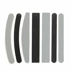 7x-Lime-Dritte-Curve-100-180-per-Ricostruzione-Unghie-Nail-Art-HK