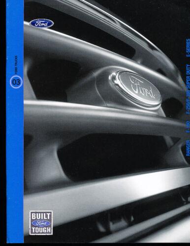 2003 Ford Ranger F-150 F-Series Sales Brochure Book